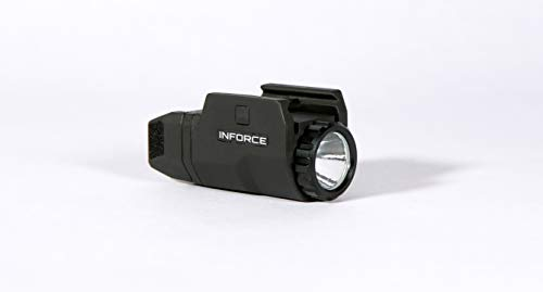 (Inforce Aplc Compact Tactical Flashlight, Black)