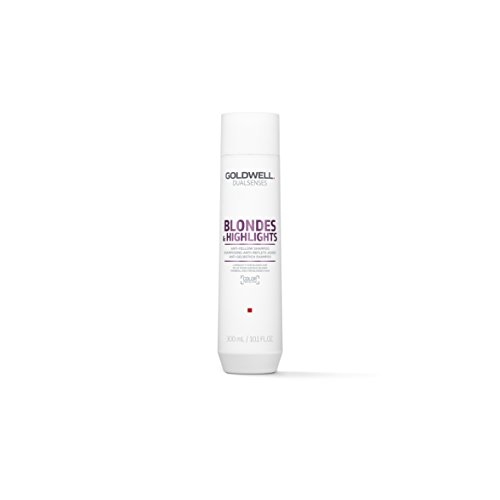 Goldwell Dualsenses Blondes & Highlight Anti-Yellow Shampoo Gentle FadeStop Color Protection - 10.1oz