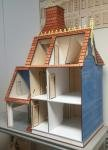 Melody Jane Dollhouse The Hamlin Victorian Dolls House with Garage Flat Pack Laser Cut Kit