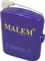 WSM043 - Bedwetting Store Malem Wearable Enuresis Alarm 2-1/9 x 2 x 4/5, Purple