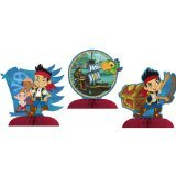 Jake & the Never Land Pirates Mini Centerpiece (3ct)