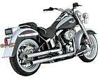 RPM Vance & Hines Compatible with Harley-Davidson Softail Straight Shots HS Slip-On Muffler