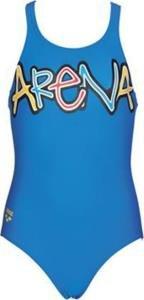 Arena Sand Sparkle Jr One Piece Swimsuit