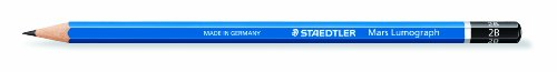 Staedtler Lumograph Graphite Drawing & Sketching Pencils, Set of all 16 Degrees (100G19) by STAEDTLER (Image #1)
