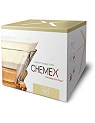 Chemex Bonded Coffee Filter, Circle, 100ct - Exclusive Packaging ()