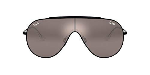 Logo Metal Shield Sunglasses - 2