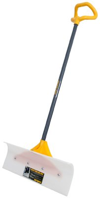 True Temper 24 in. Industrial Grade Snow Pusher with Versa Grip by ''Ames''
