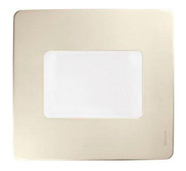 (Broan Model QTXE080FLT 80 CFM 36 Watt Fluorescent Lighting Ultra Silent Bath Fan/Light)