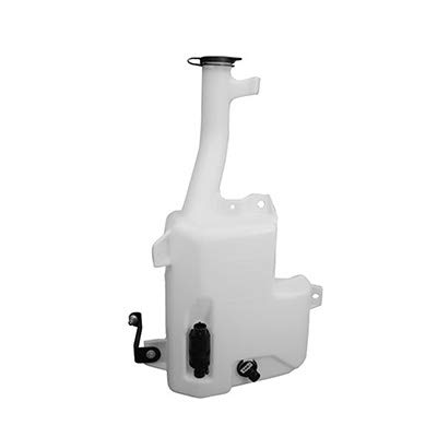 New Washer Fluid Reservoir For 2003-2007 Cadillac CTS With Cap/Pump/Sensor For Models Without Headlamp Washer GM1288195 by Fitrite Autoparts
