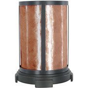 Amber Mica Uplight Table Lamp, Restoration Bronze oil Rubbed