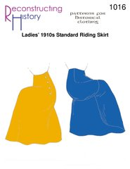 [1910s Standard Riding Skirt Pattern] (1910 Costumes)