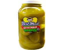 Best Maid Sour Pickles 1 Gal 12-16 (Best Made Sour Pickles)