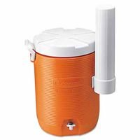 Rubbermaid Insulated Water Cooler, 5 Gallon, Orange 1841106