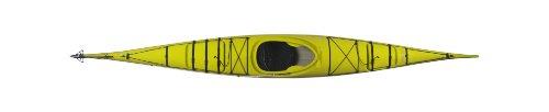 - Boreal Design Alvik Composite Rudder Sit-In Sea Kayak, Yellow/White