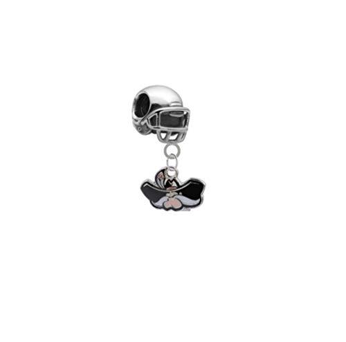 - UNLV Rebels Football Helmet 3D Universal European Bracelet Charm