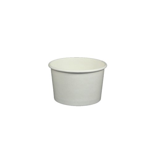 ice cream cups white - 7