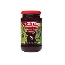 Crofters Organic Concord Grape Premium Fruit Spread 12x 16.5Oz