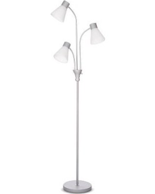 Room Essentials Multihead Floor Lamp, White