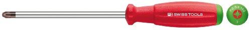 PB Swiss Tools PB 8192.2 –  100 Set de desatornilladores manuels –  Tournevis (205 mm, santoprene, rouge)