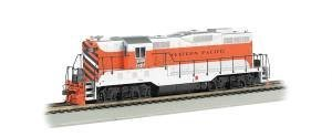 (Bachmann Industries Western Pacific #709 EMD Gp7 DCC Equipped Diesel Locomotive)
