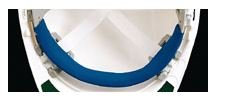 Replacement Brow Pad for Omega II Hard Hats, Blue Cushioned Pad