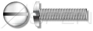 (2500pcs) #2-56 X 1/4'' Binding Head, Slotted Drive, Machine Screws, Stainless Steel 18-8, Ships FREE in USA by Aspen Fasteners