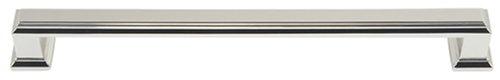 (Atlas Homewares 293-PN 8-1/2-Inch Sutton Mega Pull, Polished Nickel)