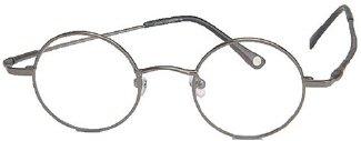 John Lennon Walrus Eyeglasses Pewter - Eyeglass Frames Lennon Round John