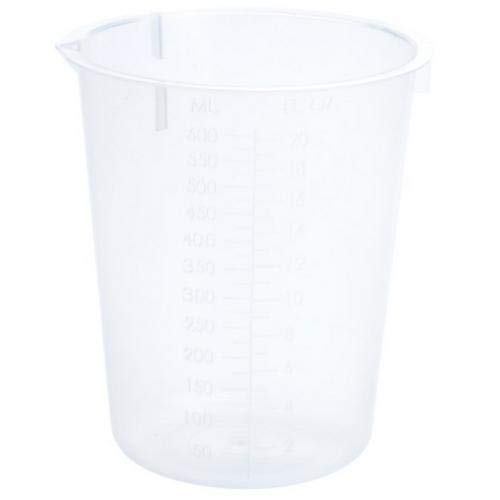 Celltreat Scientific Products 230517, 600 mL Graduated Beaker (5 Packs of 25 pcs)