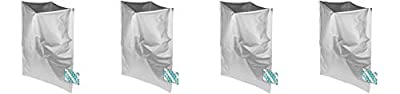 Dry-Packs 10 5 Gallon Mylar Bags and 10-2000cc Oxy-Sorb Oxygen Absorbers for Dried Dehydrated and Long Term Food Storage by Dry-Packs