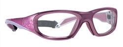 Viva-Guard X-Ray Radiation Protection Glasses, 0.75mm Pb Equivalency Lens, Cherry Vines by Colortrieve