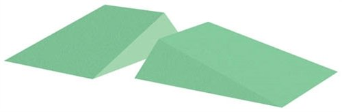 Coated Wedge Patient Positioning Sponge, 15° Wedge (Set Of Two), 12-1/2'' x 10'' x 3'' Quantity - 2 Wedges