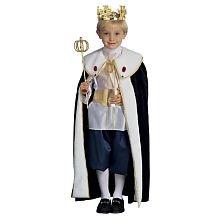 Kids Pirate King Pirate Costumes (Royal King Child Halloween Costume Size 8-10 Medium)