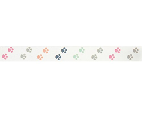 Puppy Paws Washi Tape (1 Roll - 9/16