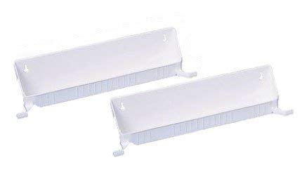 (Rev-A-Shelf RS6562.14.11.52 Tab Stop 2 Tray Kits-White)