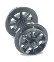 Peco NR-101 Spoked Wheels On Axles Hardlon Mouldings - Peco Model Trains