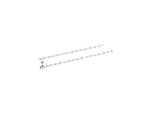 "Kohler K-9213-CP 72"" Washdown Urinal Flush Pipe, Polished Ch"