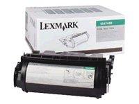 - LEX12A7468 - Lexmark 12A7468 High-Yield Toner