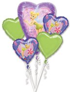 Disney Princess Tinkerbell Birthday party decoration balloon bouquet for $<!--$14.99-->