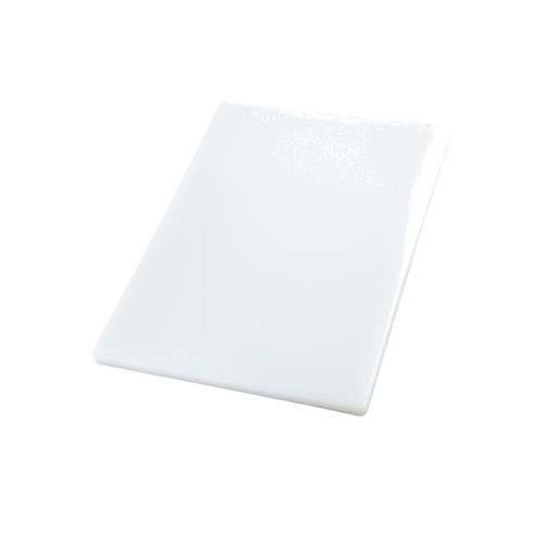 Winco CBXH-1824 Cutting Board, 18-Inch by 24-Inch by 1-Inch, White (Cutting 1 Board)