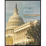 Basic Principles of American Government Revised Edition, William R. Sanford and Carl R. Green, 1567656900