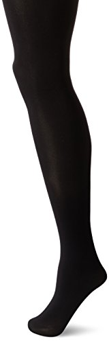 HUE Women's Made to Move Shaping Tights, Black, (Wear Black Tights)