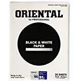 Oriental Seagull VC-RCII Black & White Variable Contrast (RC) Resin Coated RPF Glossy Paper 11x14'' - 25 Sheets