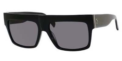 61ee3117e5b5 Celine 41756 807 Black ZZ Top Square Sunglasses Polarised Lens Category 3  Size by Celine (