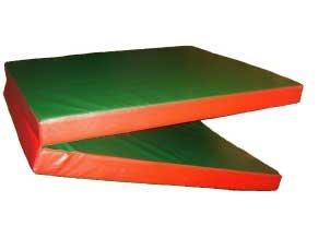 tapis de gymnastique enfants matelas de sport en mousse pais vert rouge pliable 2mx80cmx8cm - Tapis De Gym