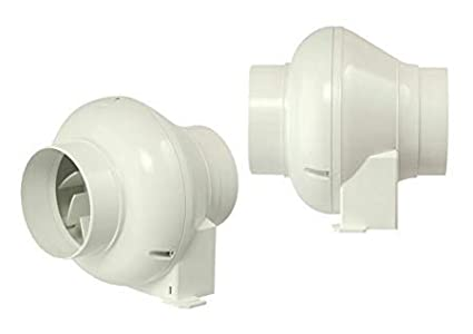 Manrose CFD200SN Inline Centrifugal Duct Fan - (Standard Model - NO TIMER)
