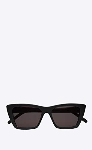 Saint Laurent SL276 001 Black SL276 Cats Eyes Sunglasses Lens Category 3 Size 5