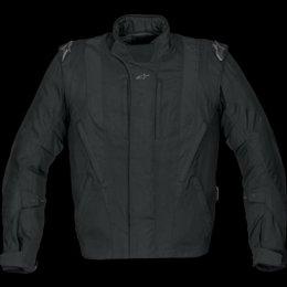 Alpinestars P1 Sport Touring Drystar Textile Jacket , Size: 2XL, Apparel Material: Leather, Primary Color: Black, Gender: Mens/Unisex, Distinct Name: Black -