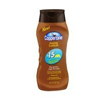 Coppertone Tanning Lotion SPF 15 8 oz (Pack of 2)