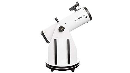 Telescopio Color Blanco Meade Instruments LightBridge Mini 114 Reflector 50x Negro 31,1 cm, 4,9 kg